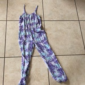 One Pieces - Purple and blue kids jumpsuit!